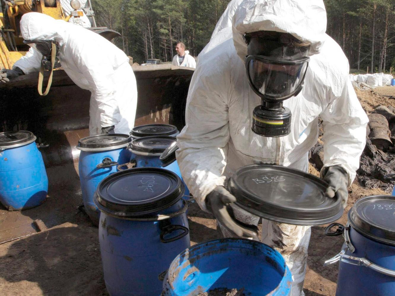 Профессиональная подготовка лиц для работы с опасными отходами