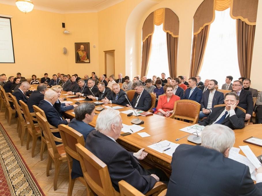 Заседание Ученого совета СПбПУ