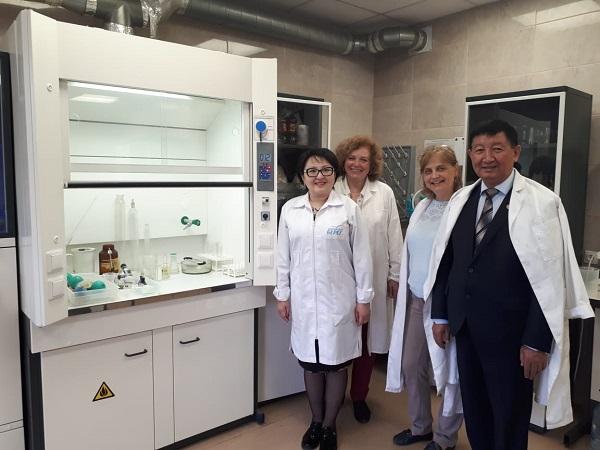 Стажировка ученых Казахского национального аграрного университета в СПбПУ