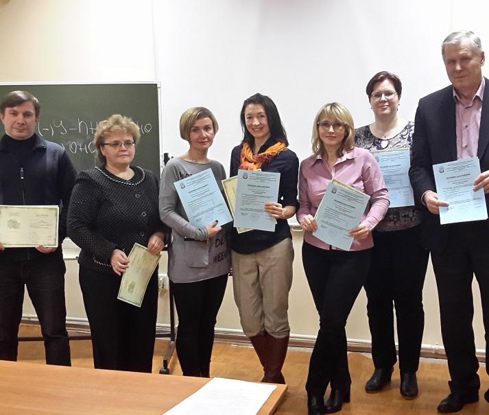 Поздравляем с выпуском слушателей программы повышения квалификации аудиторов «Международные стандарты аудита»!